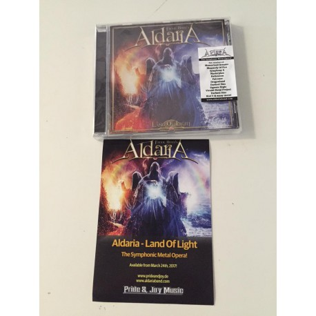 Aldaria - Land Of Light (plus free sticker)