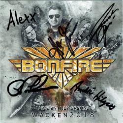 Bonfire - Live On Holy Ground Wacken 2018 (CD, signiert)