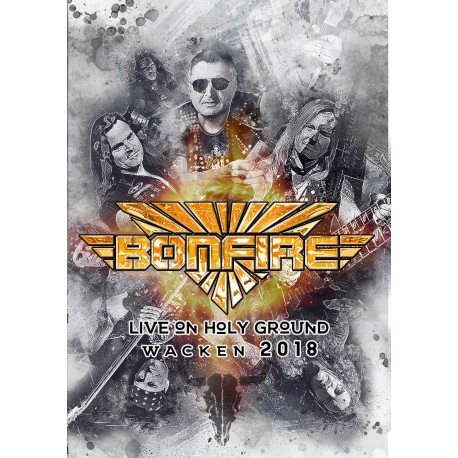 Bonfire - Live On Holy Ground Wacken 2018 (DVD, signed)