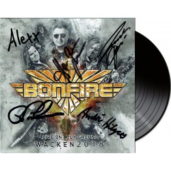 Bonfire - Live On Holy Ground Wacken 2018 (LP, signed)