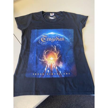 Tragedian - Seven Dimensions (Bundle: CD & T-Shirt) Girlie